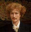 Lawrence Alma-Tadema, Portrait of Ignacy Jan Paderewski, 1890, oil on canvas