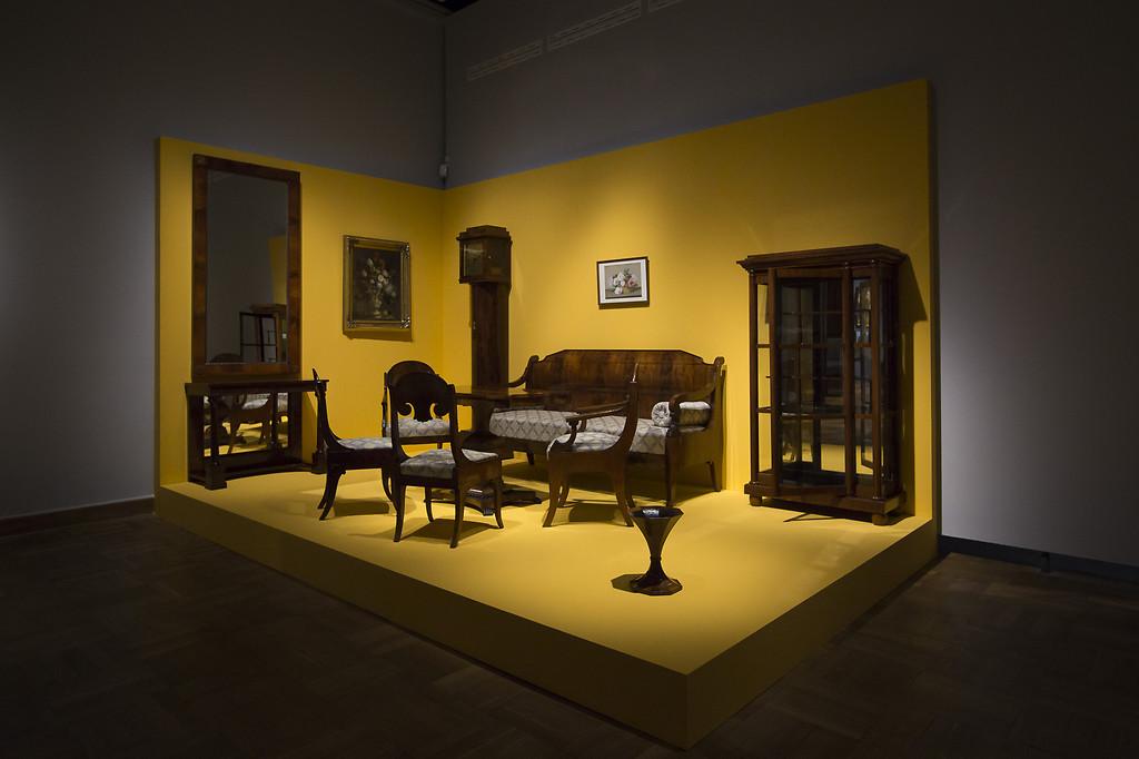 Wnętrze w stylu biedermeier