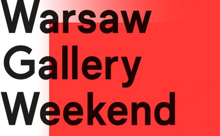 logo Warsaw Gallery Weekend 2015